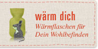 Wärmflaschen - Originelle Motive, angenehm anfühlender Wollstoff